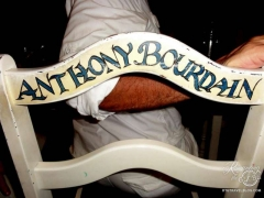 L' Auberge Anthony Bourdain's seat