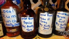 Homemade rum -Gros Islet Friday Jump Up
