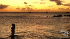 Sunset Gros Islet Friday Jump Up
