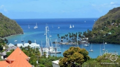 Marigot Bay overlook