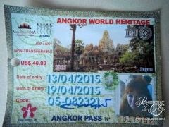Angkor Wat - 3 day pass