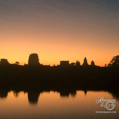 Angkor Wat sunrise - Photo thanks to Anna Kerr!