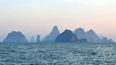 Sailing scenery - Phang Nga Bay