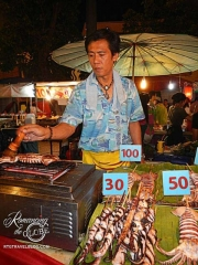 Street food - squid vendor