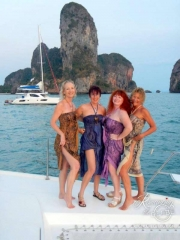 Railay fashion show