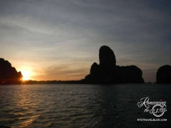Railay sunrise
