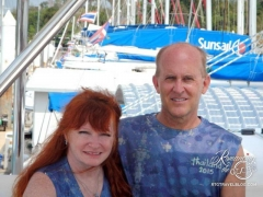 Tom and Sheila - Thailand sailing