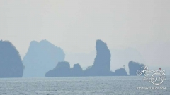Phang Nga Bay - Excited island