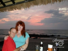 Khao Lak beach dinner