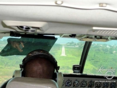 Belize landing strip