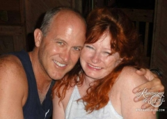 Tom and Sheila in Belize