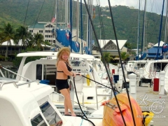 Tortola, tie it up!