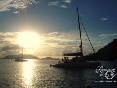 Sunset, Cane Garden Bay, Tortola