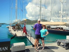 Antigua roadtrip - Nelson's Dockyard marina
