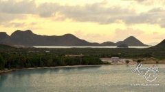 Antigua departure - coastal scenery