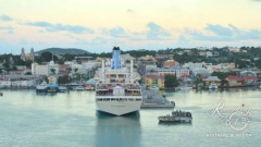 Antigua departure - St. John's port