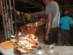 Tobago Cays Beach Lobster BBQ