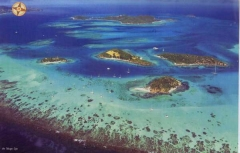 Tobago Cays aerial - photo courtesy Tobago Cays