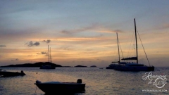 Tobago Cays sunset