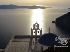 Fira sunset