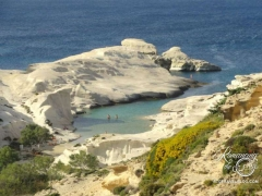 Milos, Greece - stunning Sarakiniko Beach