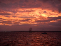 Cowes Week Sunset