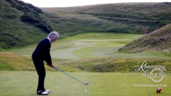 John at Cruden Bay Golf Course