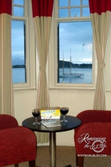 Oban Caledonia Hotel - Can you imagine how much we loved this view! Perfect nook.