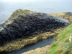 Lovely Staffa Island