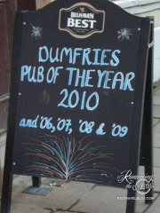 At Dumfries pub, Cavens Arms