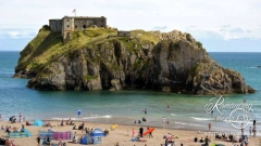Tenby, Wales - St. Catherines' Island and Fort