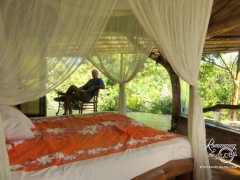 Vanira Lodge. Our sweet room, Haari