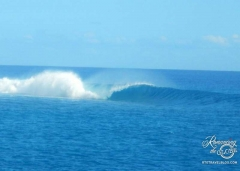 Raiatea classic surf break
