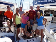Our French Polynesia crew