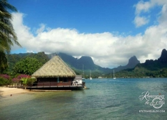 Our bungalow - Moorea