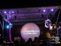 Snowmass Village Balloonfest Night Glow concert and acrobats