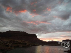 Lake Powell - beautiful sunsets every night